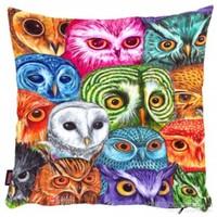 Bengü Accessories Baykuş Desenli Dekoratif Yastık 12