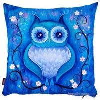 Bengü Accessories Baykuş Desenli Dekoratif Yastık 5