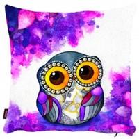 Bengü Accessories Baykuş Desenli Dekoratif Yastık 10