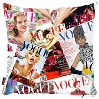 Bengü Accessories Vogue Dergisi Desenli Dekoratif Yastık
