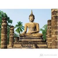 Wat Sra Temple Duvar Kaplaması 8 Parça / 366 X 254 Cm