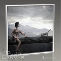 Pluscanvas - Loner Beauty Tablo