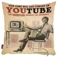 Bengü Accessories Youtube Sosyal Medya Konseptli Dekoratif Yastık