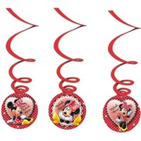 Pandoli Minnie Mouse Asmalı İp Süs