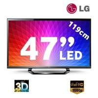 """Lg 47LM640S 47"""" 400HZ WIFI Uydu Alıcılı UsbMovie SMART 3D LED TV + 4 Adet 3D Gözlük Hediyeli"""