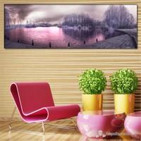 Tabloshop - Misty Air Canvas Tablo - 90X30cm