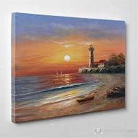 Tabloshop - Deniz Feneri Canvas Tablo - 75X50cm