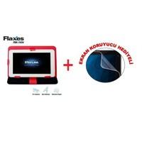 """Flaxes FDK-700K Universal 7"""" Kırmızı Tablet Kılıfı + Ekran Koruyucu Hediyeli"""