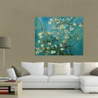 Atlantis Tablo Çiçek Açmış Ağaç, Badem Çiçekleri 50X40 Cm
