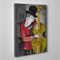 Tabloshop - Instrument Playin Series Iı Canvas Tablo - 75X50cm
