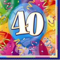 40 Yaş Kağıt Peçete