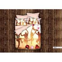 Canarino Nevresim Takımı 3D 3 Boyutlu Canarino Tek Kişilik Flavıo