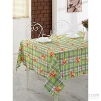 Eponj Home 3D Raşel Masa Örtüsü 155X180 Cm Betty Yeşil