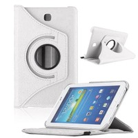 Markaawm Samsung Galaxy Tab 4 T230 Kılıf T235 360 Derece Standlı
