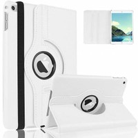 Microcase Apple İpad Air 2 360 Döner Standlı Deri Kılıf
