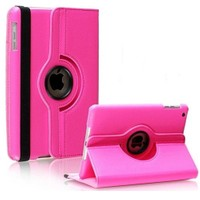 Case 4U Apple iPad Mini 4 360° Dönebilen Pembe Tablet Kılıfı