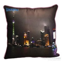 Yastıkminder Koton Polyester Ülke Çin Renkli Dijital Baskılı Yastık