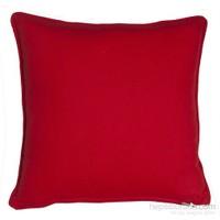 Yastıkminder Koton Kırmızı Dekoratif Yastık