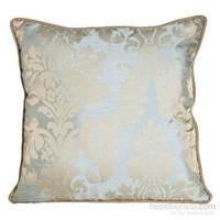 Yastıkminder Tafta Soft Mavi Damask Desen Yastık