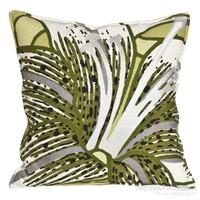Yastıkminder Koton Yeşil Beyaz Dekoratif Yastık