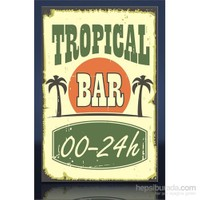 Tropıcal Bar Kanvas Tablo