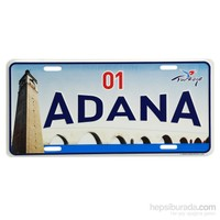 Goadana Magnet Mini Plaka Adana 1