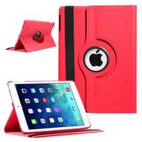 Case 4U iPad Air 360° Dönebilen Kırmızı Kılıf