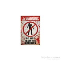 Maxi Poster Warning Do Not Feed The Zombies