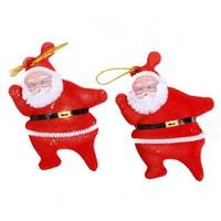 Coco Bonbon Yılbaşı Ağacı Süsleme 2'li Noel Baba Yılbaşı Dekor