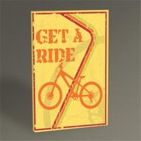 Tablo 360 Bisiklet Afişi Tablo 45X30