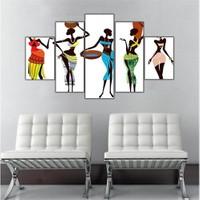 Ritmo Canvas Afrika Dans Canvas Tablo