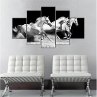 Ritmo Canvas Koşan Atlar Canvas Tablo