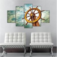 Ritmo Canvas Gemi Deniz Canvas Tablo