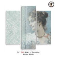 Artred Gallery Valentina Serisi Kanvas 70X95 Tablo-25