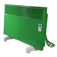 Vigo Elektrikli Panel Konvektör Isıtıcı Dijital 1000 Watt Yeşil Epk4570e10y