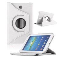 """Case 4U Samsung Galaxy Tab3 T210 7"""" 360° Dönebilen Beyaz Standlı Tablet Kılıfı"""