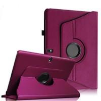 """Case 4U Samsung Galaxy Tab Pro T520 10.1"""" 360° Dönebilen Mor Standlı Tablet Kılıfı"""