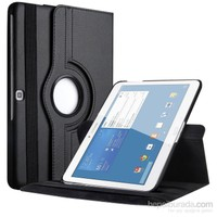 "Case 4U Samsung Galaxy Tab4 T530 10.1"" 360° Dönebilen Siyah Standlı Tablet Kılıfı"