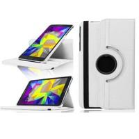 """Case 4U Samsung Galaxy Tab S T700 8.4"""" 360° Dönebilen Beyaz Standlı Tablet Kılıfı"""
