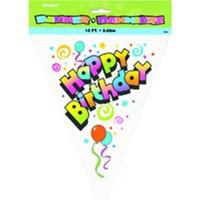 Pandoli Happy Birthday Bayrak Set