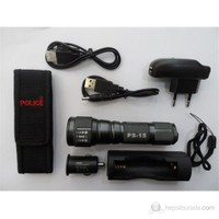 Police Ps-15 Cree Q5 Power Led Zoom El Feneri