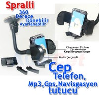 CarSpeed Magic Holder Universal Araç İçi Spralli Telefon,PDA,Navigasyon vb. Tutucu