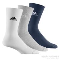 Adidas Crew Plain T 3P Çorap