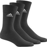 Adidas Z25574 Crew Plaın T 3P Adidas 3Çift Siyah Çorap