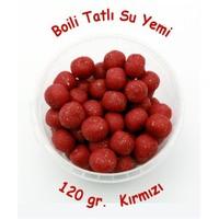 Mobydick Boili Tatlısu Yemi, 120gr, Simli/Kırmızı