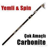Okuma Carbonite Tele Surf Kamış Mh 390Cm 80-150Gr Atar