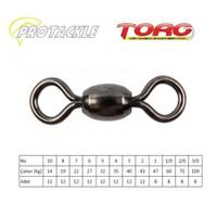 Protackle Toro Crane Swivel Fırdöndü Black Nikel No:2/0