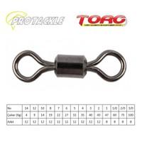 Protackle Toro Rolling Swivel Fırdöndü Black Nikel No:4
