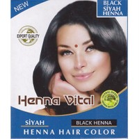 Henna Vital Kına Siyah Black Henna Hair Color