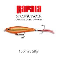 Rapala X-Rap Subsurface Walk 150Mm Ogo